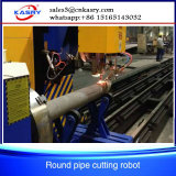 5 Mittellinie CNC-Plasma-Rohr-Ausschnitt-Maschine