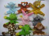 동물 연약한 장난감 자석 Freidge를 위한 소형 자석 견면 벨벳 장난감
