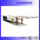 Высокопрочный стальной скелетный полуприцеп контейнера с Gooseneck