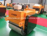 Honda Gasoline Tandem Drum Mini Road Roller Compactor com preço de fábrica (FYL-S600)