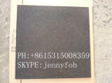 EPDMの斑点とのウェイトトーレーニングルームのフロアーリングかCrossfitのゴム製体操の床の黒