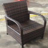 Ganascia di vimini della savanna del rattan del PE di vendita della nuova mobilia esterna calda di stile