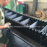 Corrugated резиновый конвейерная Nn200 для перевозки кокса