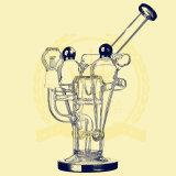 Più nuovo 13′ ′ Gabbia di uccello di vetro del tubo della caffettiera a filtro di duello Perc con il tubo di vetro di Perc della cupola