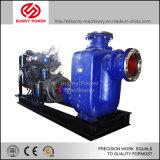 Bomba de água Diesel móvel para a irrigação ou o desenho da água do lixo