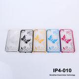 Для iPhone 4S4 Новые поступления! ! ! Бабочка заднюю крышку компьютера жесткий чехол для iPhone4G/4s (IP-4-010)