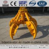 Máquina Catching de la chatarra de la correa eslabonada de Baoding 15ton con el compartimiento 0.7m3