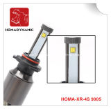 Fanless 방산 LED 헤드라이트 LED 자동 빛 9005 6500k