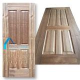 チークのベニヤが付いているさまざまな様式3のパネルHDFのドアの皮