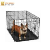 Bords ronds Cages de pliage avec 2 portes