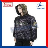 남자 Hoodie를 인쇄하는 Healong 최고 판매 운동복에 의하여 주문을 받아서 만들어지는 디지털