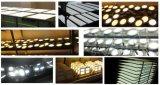 Lumière ronde et carrée de panneau de plafond de DEL pour la lampe d'éclairage de DEL