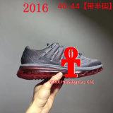 Les chaussures des hommes 2016 chaussures de sports de chaussures de course de coussin de l'air des hommes neufs
