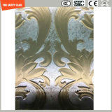 3-19mm 호텔 벽의 건축을%s 새기는 실크스크린 Print//Pattern 평지 또는 구부려진 Tempered 안전 유리 또는 지면 또는 SGCC/Ce&CCC&ISO를 가진 분할