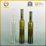 O vinho alto 375ml do gelo cancela o frasco de vidro (906)