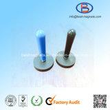 TPR/TPE/TPV het Behandelen van het rubber/de de Met een laag bedekte Permanente Tang van de Magneet NdFeB Pot/