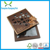 Изготовленный на заказ бумажная пустая коробка для шоколада