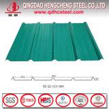 Colorear la hoja trapezoidal revestida para el azulejo de material para techos