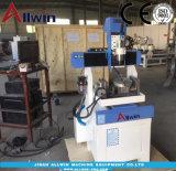 5 EJES CNC máquina de escritorio 400*400mm de tamaño pequeño 5 rebajadora CNC de ejes