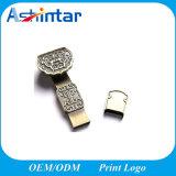 Vara impermeável do USB do disco instantâneo do USB do metal mini