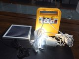 Sistema solar portátil solar energy-saving de potência 10W mini com carregador móvel e saída do USB