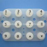 Прозрачные панели кнопки мембраны из силиконового каучука