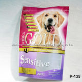 Pet Food Packaging Borsa con cerniera ISO9001: 2008