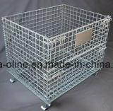 Stackbale Metal plegable de la jaula de almacén (1000*800*840)