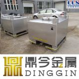 Ss304 het StandaardRoestvrij staal Ibcs van de Kubus voor Diesel