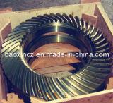 Plataforma de perforación de pozos de mesa giratoria de acero de aleación de piñones