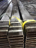 200x50x8mm tubo de acero rectangular para la fabricación de la máquina
