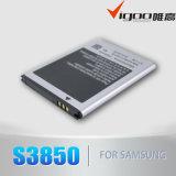 Батарея для S3850 Samsung с высоким качеством