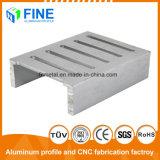 Espulsioni di alluminio con il nastro d'acciaio della spazzola anodizzato per uso del dissipatore di calore