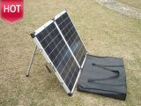 160W Folding Solar Panel con Anderson Plug e Battery Clamp