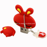 Cartoon Memoria USB Flash Drive USB de Conejo
