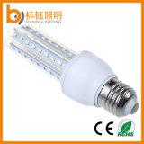 Lámpara ahorro de energía de la luz del maíz de la dimensión de una variable 85-265V E27 SMD2835 9W LED de U