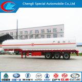 Roestvrij staal 30000-80000 van de Brandstof Liter van de Aanhangwagen van de Tank, De Semi Aanhangwagen van de Olietanker