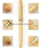 Business Giftのための高いQualiy Wooden Metal Ball Pen Set