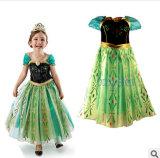 Nouveau design de vente chaude IMPRIMÉ Tissu Floral robe longue fille musulmane
