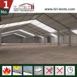El almacén temporal estructura 50 el x 170m para el almacenaje y el taller con la pared dura