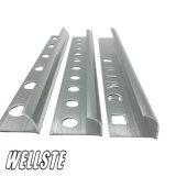Barra di angolo di alluminio dell'espulsione di alluminio L testo fisso dell'alluminio di figura