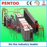 高品質の粉のコーティング装置の静電気のペイントライン