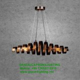 De nieuwe Lamp van de Tegenhanger van het Restaurant van de Lichten van de Decoratie van het Ontwerp Post-modern (GD-7432-1L)