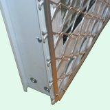 Ventana de desplazamiento de aluminio revestida de Andoized Surfacement del polvo con el acero inoxidable Buglar K01029 neto