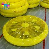 Раздувной лимон арбуза игрушки воды плавая поплавки бассеина воздуха PVC