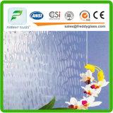 vidro rolado/modelado do espaço livre da folha de plátano de 2.5mm-12mm na qualidade superior