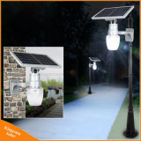 Le tout dans un mur solaire de jardin en plein air Rue lumière Lampe à LED
