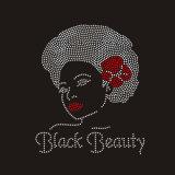 عالة بالجملة أسود [غريلس] صخرة [رهينستون] بلّوريّة تصميم [هوتفيإكس] الحافز
