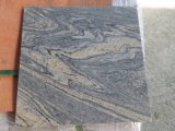 Flooring Tile/Wall Tile/Paving Tile를 위한 Juparana Light Polished 또는 Flamed/Honed Granite Slab