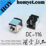 Alta calidad 10DIP High-Current un conector hembra tipo DC Jack de alimentación DC
